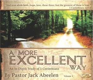 Picture of 1 Corinthians: A More Excellent Way (Volume 3)