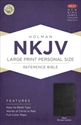 Picture of Large Print Personal Size Reference Bible-NKJV - Large Print