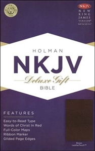 Picture of Deluxe Gift Bible-NKJV