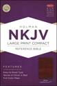 Picture of Large Print Compact Reference Bible-NKJV