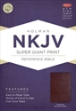 Picture of Super Giant Print Reference Bible-NKJV