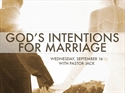 Picture of God's Intentions For Marriage