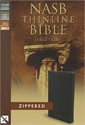 Picture of Thinline Bible-NASB-Large Print Zippered