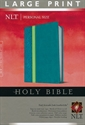 Picture of Personal Size Large Print Bible-NLT - Large Print