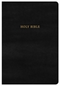 Picture of NKJV Super Giant Print Reference Bible, Classic Black Leathertouch